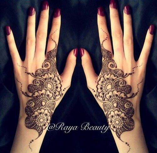 Mehndi We Heart It : Image via we heart it henna henne nailpolish tatouage