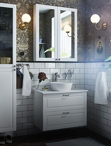 Badezimmer Badmobel Fur Dein Zuhause Badezimmer Bad Inspiration Ikea