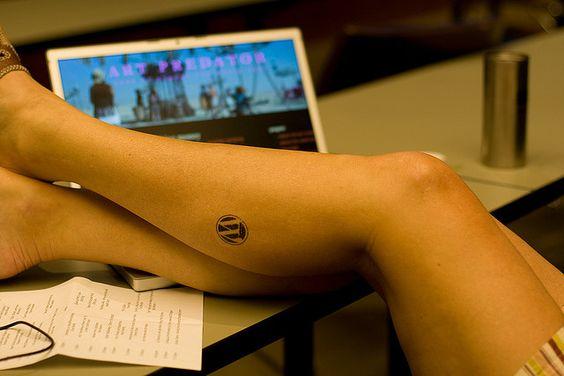 WordPress tatoo