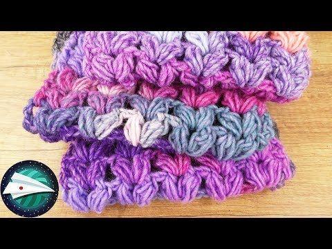 Diy 玉編みでハート模様のマフラー グラデーションで可愛い Youtube V Stitch Crochet Crochet Patterns Crochet Blanket Patterns