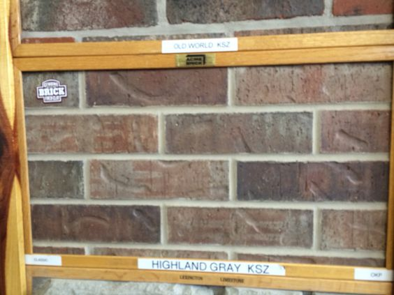 Bricks Acme Brick And Highlands On Pinterest