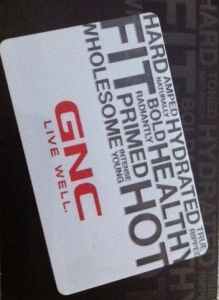 $50 GNC Gift Card Giveaway! #HealthyLivingBlogHop Ends 1/31 | Rude Mom