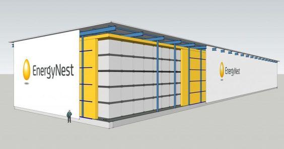 EnergyNest präsentiert neuartiges Energiespeicherkonzept