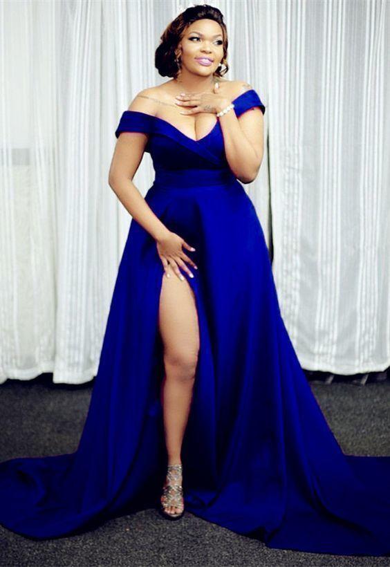 19+ Plus size blue dress ideas