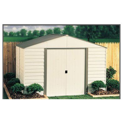 Ezee Shed 10 Ft W X 8 Ft D Metal Storage Shed Steel Storage Sheds Shed Wooden Storage Sheds
