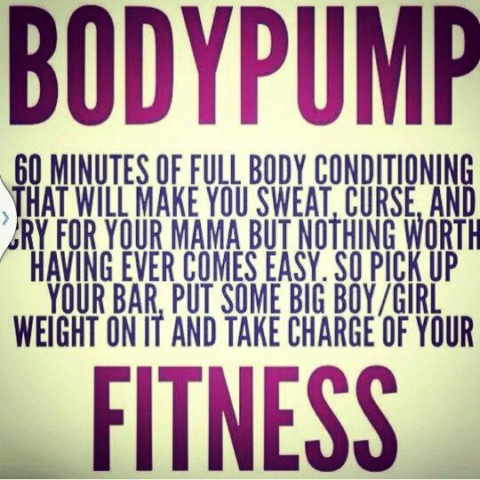 Body Pump quote