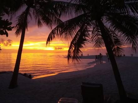 Sonnenuntergang Embudu - Hotel Embudu Village
