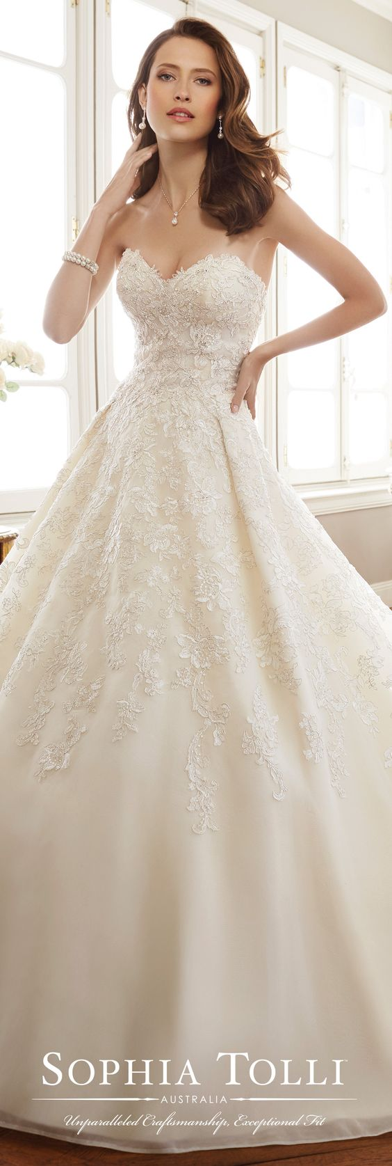 best images about pleated gowns on pinterest stella york lace