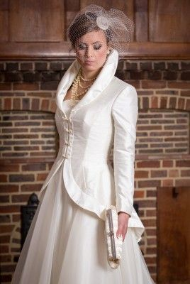 Starla - Qiana Bridal - Classic Rose Collection (NEW COAT ADDED TO COLLECTION AT WHITE GALLERY)