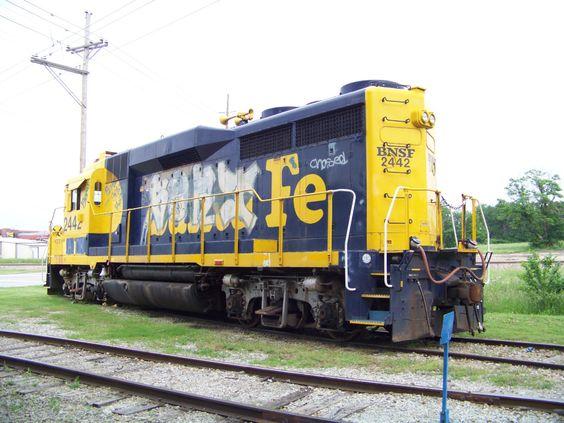 AOK GP30 2442   Description:    Photo Date:  5/26/2013  Location:  Sapulpa, OK   Author:  Kent Held  Categories:    Locomotives:  AOK 2442(GP30)