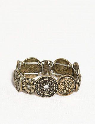 Coin Stretch Bracelet