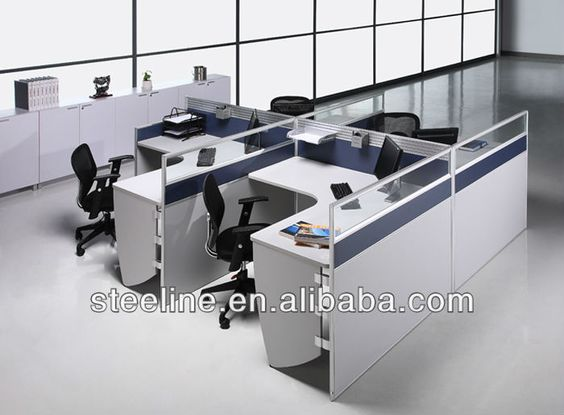 Popular office furniture modern office cubicle open plan Open office furniture