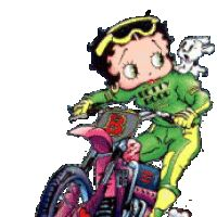 betty boop sexy photo: Betty Boop/Dirt Bike ScooterBetty.gif