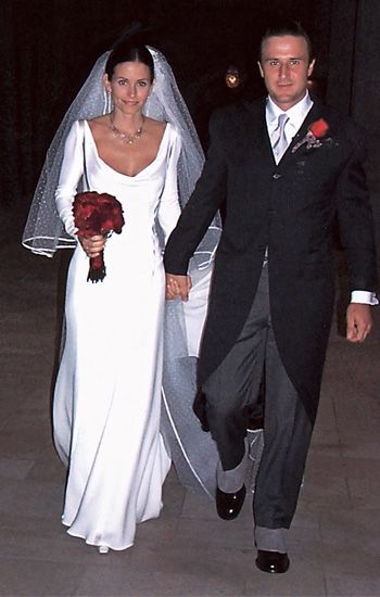 Courtney Cox Arquette's Wedding Gown