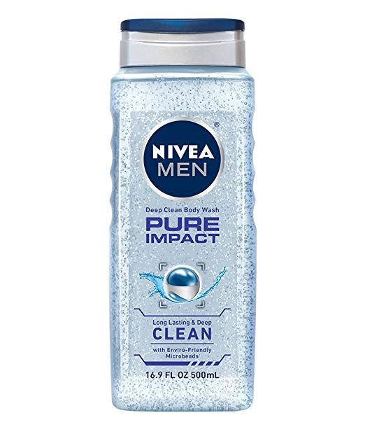 Nivea Men Pure Impact 3 In 1 Body Wash 16 9 Fluid Ounce Pack Of 3 Review Best Smelling Body Wash Body Wash