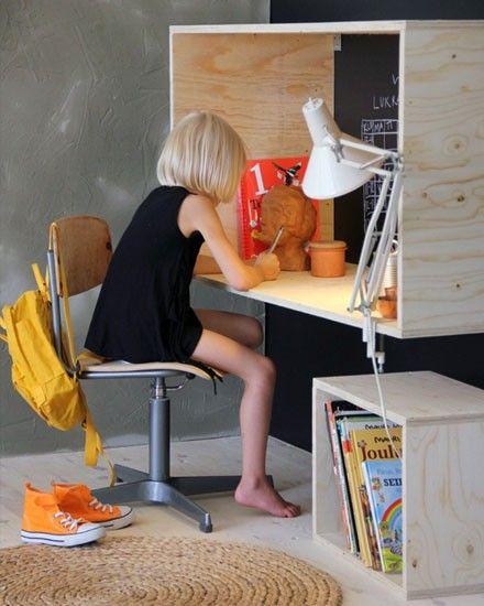 Bureaus Shake And Plywood Desk On Pinterest