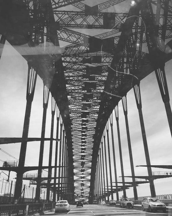Morning Sydney I took the photo few days ago. #sydneyharbourbridge #sydney by pammiejordon http://ift.tt/1NRMbNv