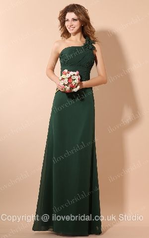 Fascinating One Shoulder A-line Bridesmaid Dress