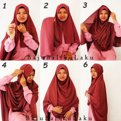 Tutorial Hijab Pashmina Dan Syari Ragam Muslim Di 2020 Dada Model
