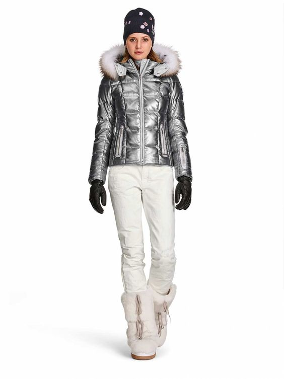 Canada Goose victoria parka replica 2016 - DOWN SKI JACKET MABEL in Silver for Women | BOGNER USA | Hit the ...