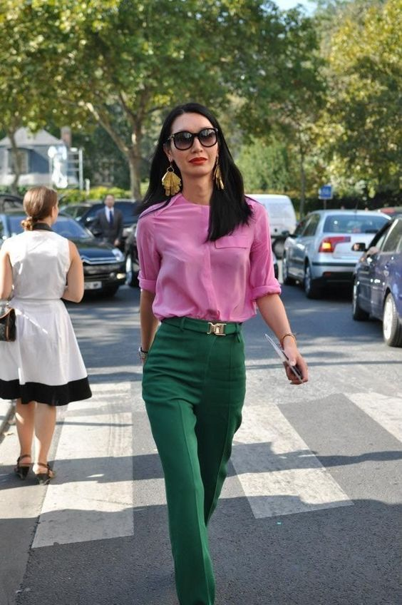 Inverted colors - Office Outfits        Inverted colors  #colors #Inverted #colorful outfits #colors #Inverted #office #Outfits