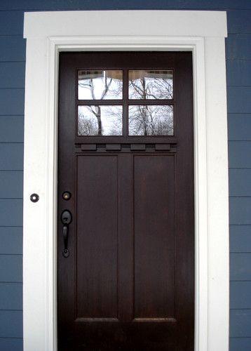 Craftsman Door Craftsman And Doors On Pinterest
