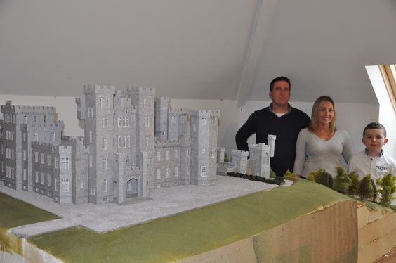 The magnificent Mitchelstown Castle, which no longer stands today, has been brought back to life in the form of a 6ft x8ft scale model, thanks to loc