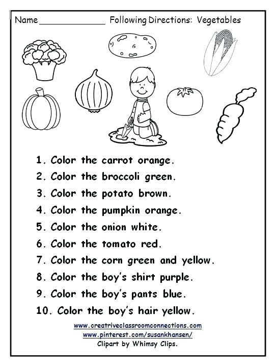 Following Directions Worksheet Following Directions Following Directions Activities Speech And Language Following directions printables