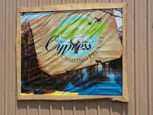 Cypress Camping Resort..... new as of 2010, situated on the Intecoastal Waterway