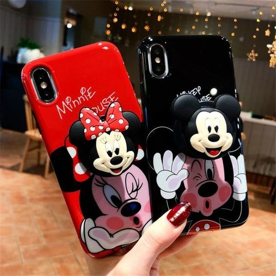 Mickey and Minnie Phone Cases | Minnie toys, Cute phone cases ...