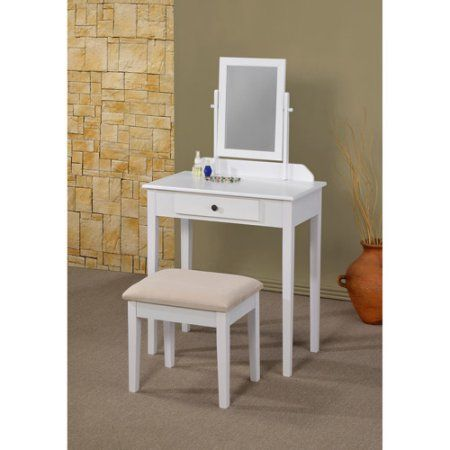 Sky 3-Piece Vanity Set, Multiple Finishes - Walmart.com