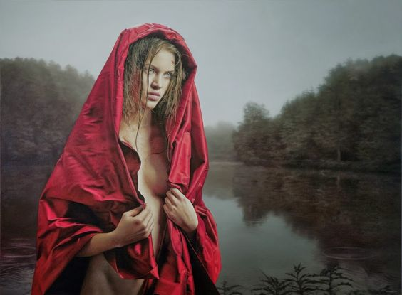 Philipp Weber hyper realist paintings