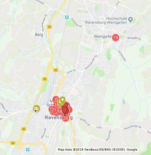 Mom Ravensburg Ist Eine Interaktive Karte Fur Handy Und Pc