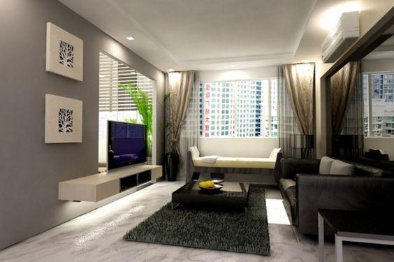 wohnzimmer modern dekorieren dekoideen wohnzimmer modern and ...