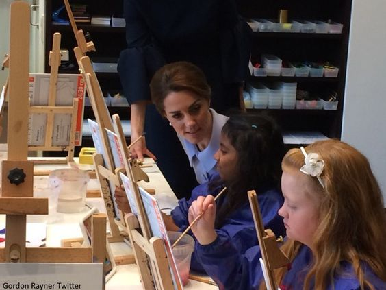 The Duchess of Cambridge marked a royal milestone today as she travelled to the Netherlands for her first solo overseas tour - undertaking s...: