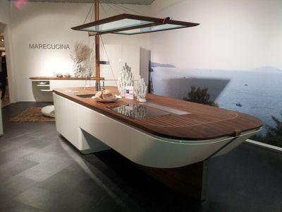 ALNO Marecucina Einbauküche Alnostar highline Maritim Inselküche - einbauküchen für kleine küchen
