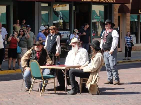 Deadwood, SD  Gun fight on main street.  Fun for everyone of all ages.