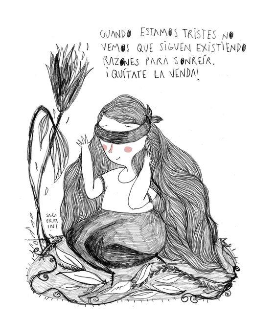 Cuando estamos tristes somos ciegos - Sara Fratini