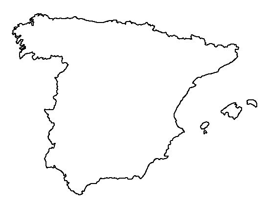 spain map coloring pages - photo#13