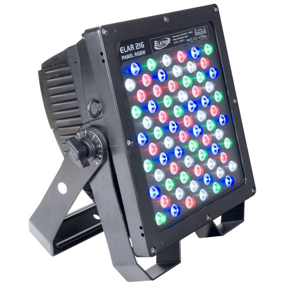 Elation ELAR 216 PANEL RGBW - 250W, 72 x 3W RGBW IP 65 HIGH POWER LED PANEL.