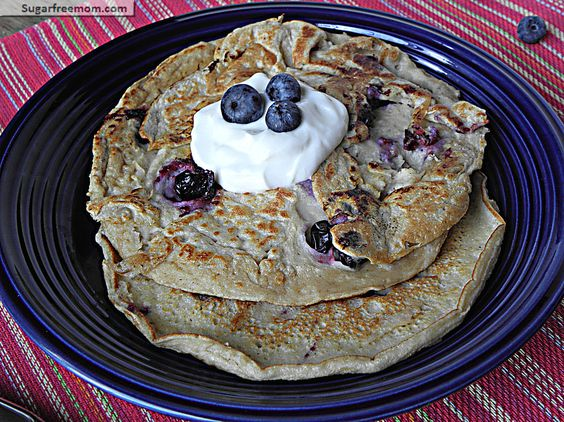 Healthy Blueberry oat Protein Pancakes: No Sugar Added  FAMILY STYLE
