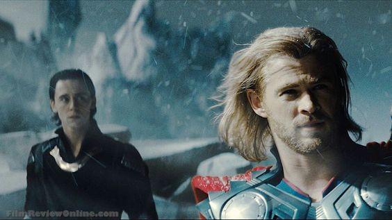 Loki & Thor on Jotunheim