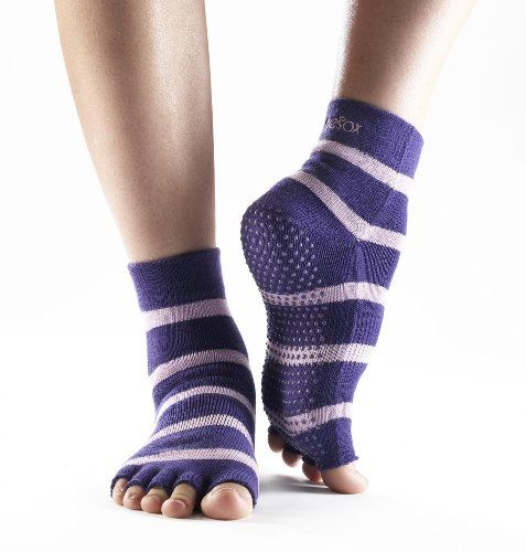 ToeSox Half Toe Yoga/Pilates Toe Socks With Grips $13.99 - $15.00