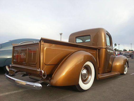 STYLISH KUSTOMS Photos: Super cool 40 Ford Pick up