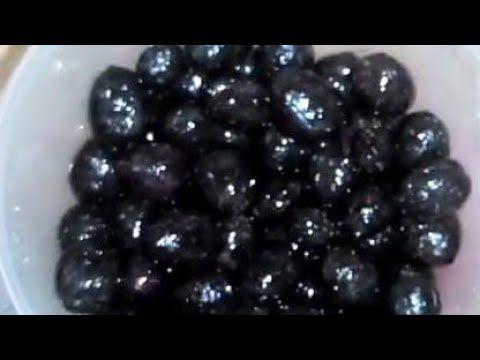 تحويل الزيتون الأخضر إلى اسود بمكون رخيص جدا وهتكلي منه في أقل من اسبوع اتمنى الاشتراك بالقناه Youtube Blackberry Fruit