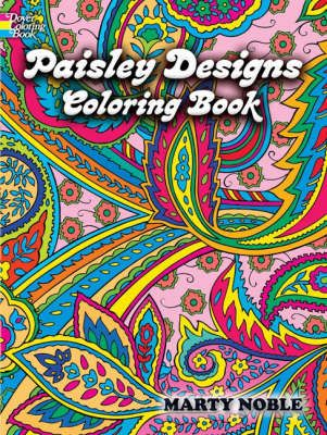 Paisley Designs Colouring Book - I love colouring patterns