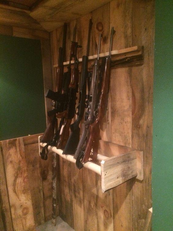 Gun Racks Guns And Rustic On Pinterest