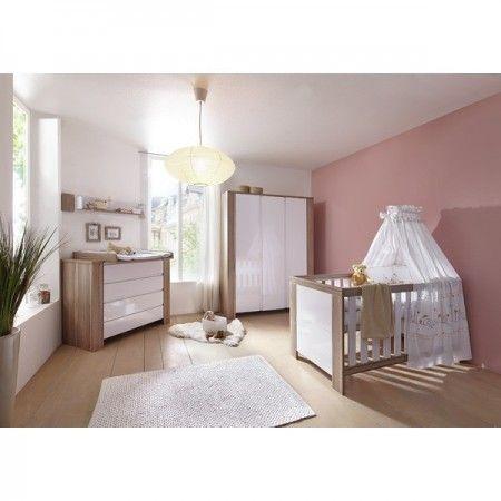 Chambre d enfant schardt cube olive lit commode langer for Armoire chambre d enfant