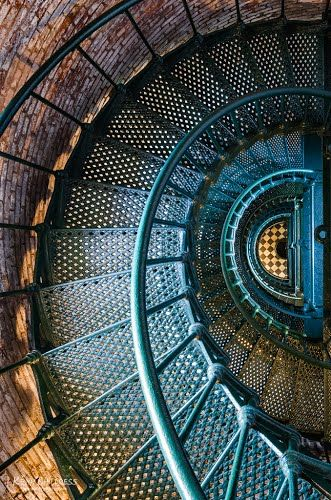 Currituck Lighthouse interior - Corolla NC