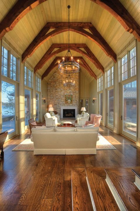 Ceilings window and beams on pinterest for Atrium design and decoration